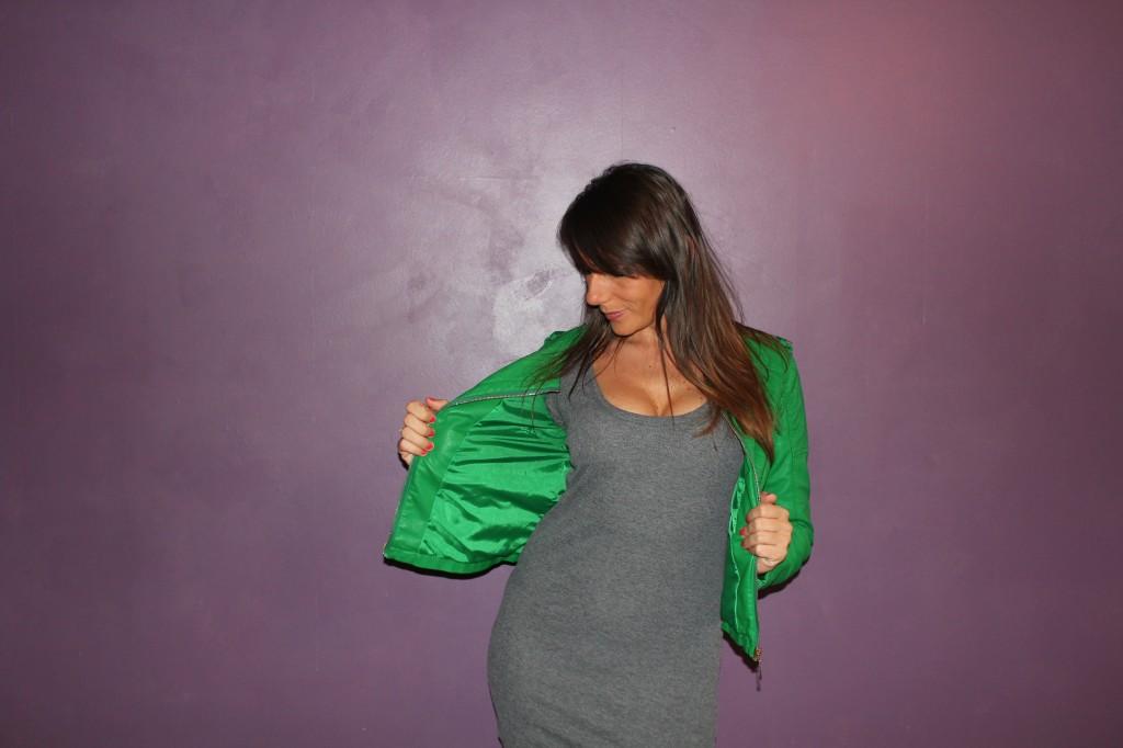 Le Perfecto vert !  ou la Grenouille comme tu veux