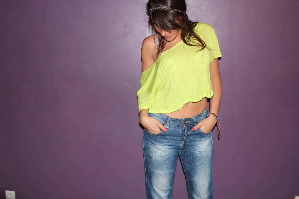 Comment porter le jean boyfriend de façon sexy