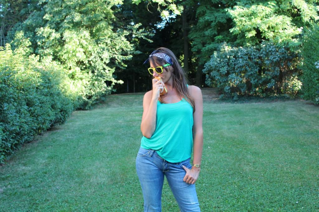 Friday wear #1  Relaxing in my Jean