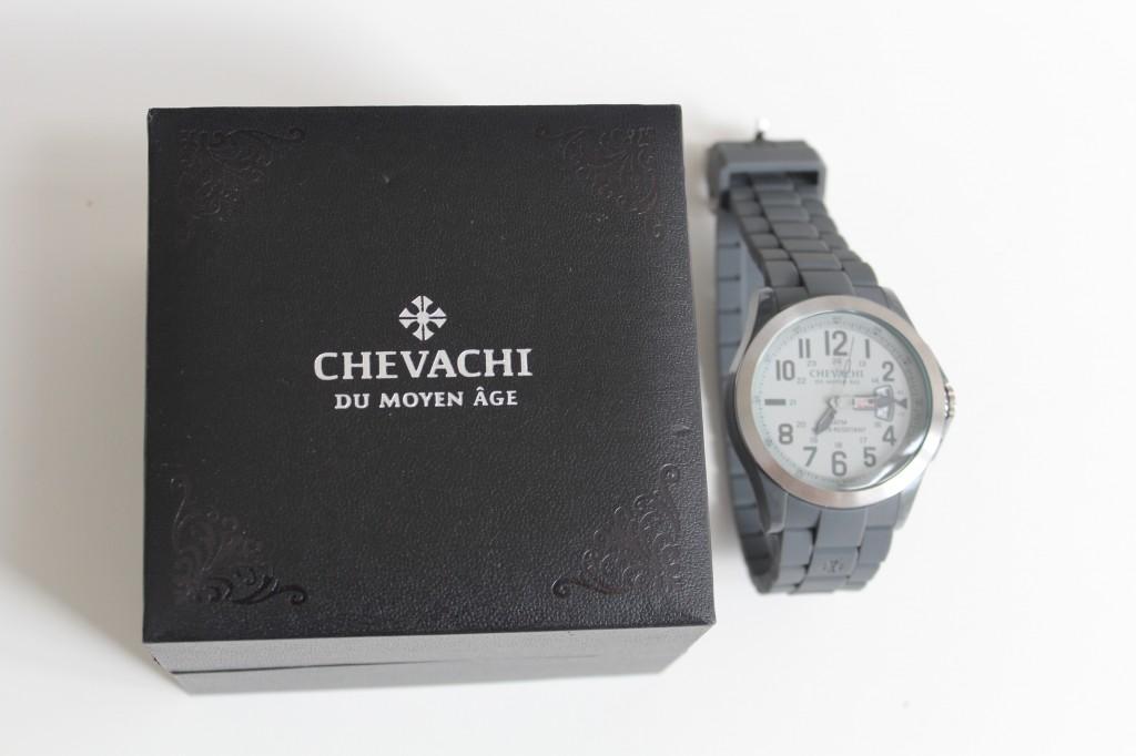 Montre Chevachi + Concours (luxueux) inside