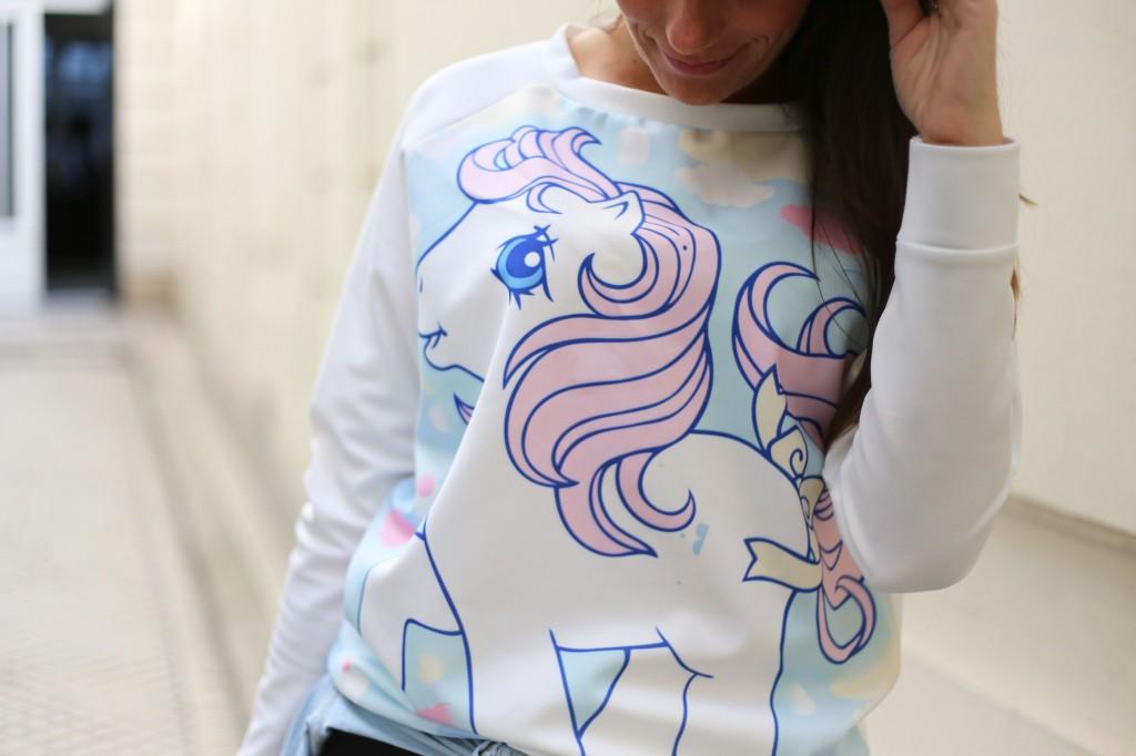 Daddy, i want a pony !