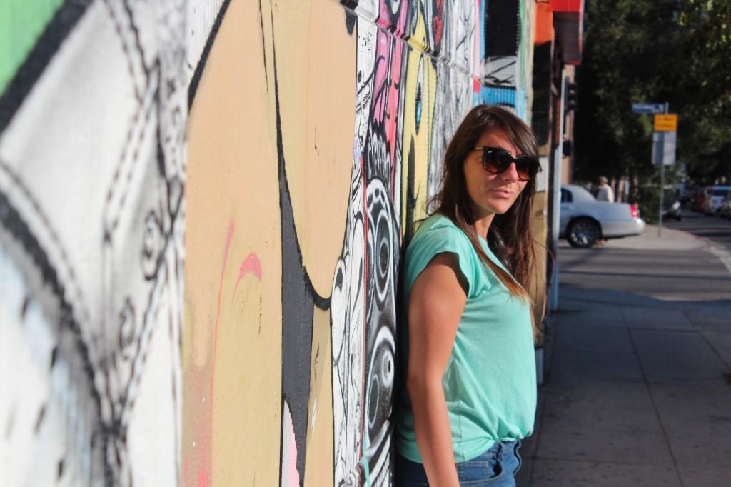 Sur les murs d'Hollywood