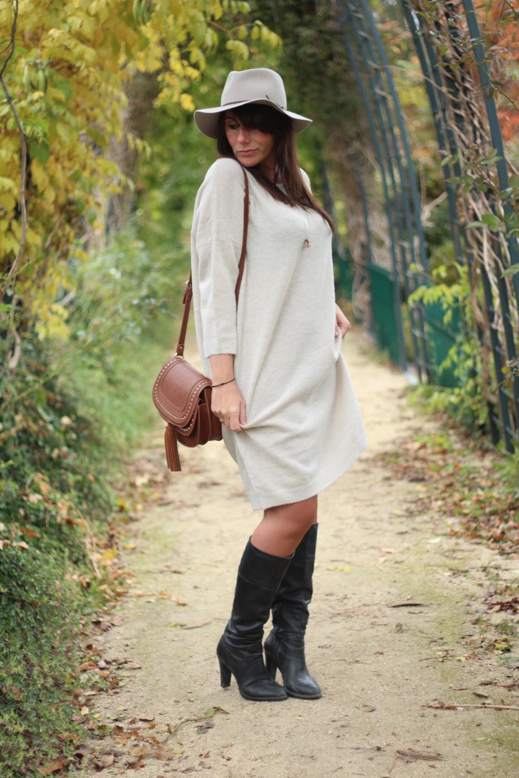 La robe pull