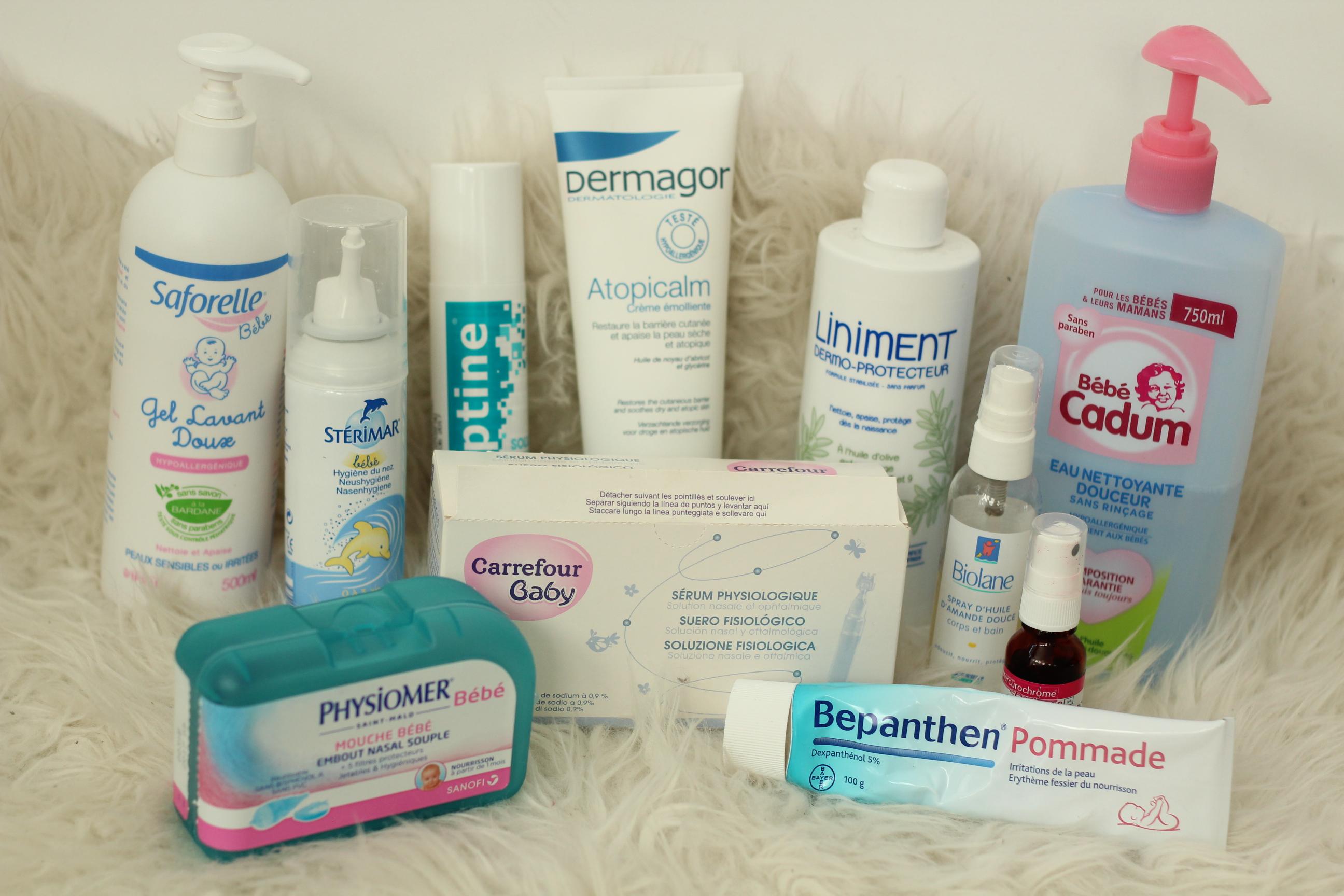 Les 10 produits indispensables à avoir sur sa table à langer au retour de maternité