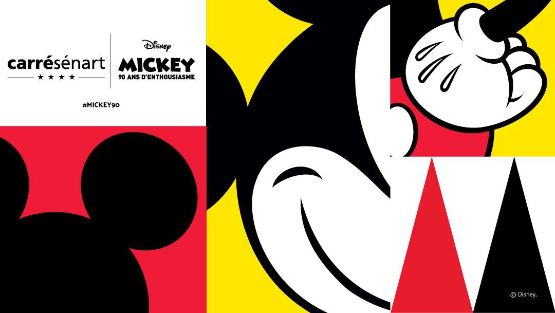 Quand Carré Sénart fête les 90 ans de Mickey