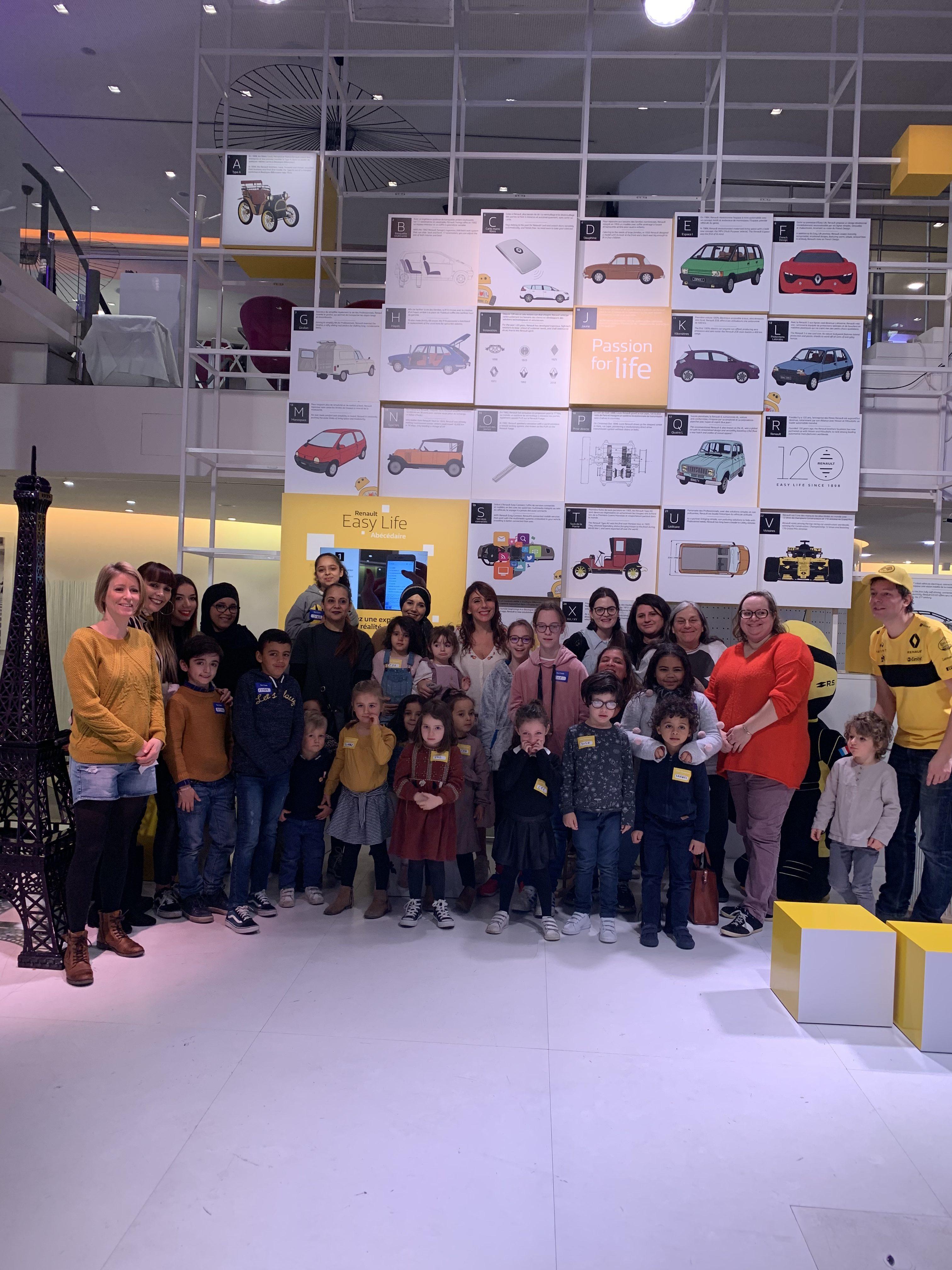 Les vacances scolaires à L'Atelier Renault