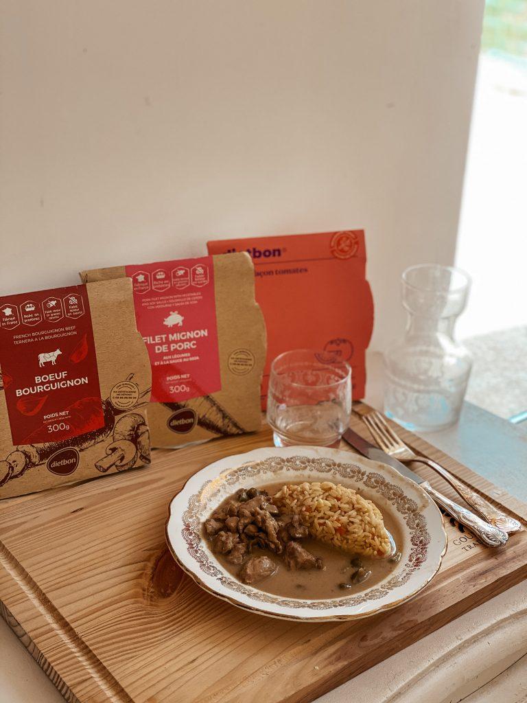 Mon avis sur le réequilibrage alimentaire avec les repas minceur Dietbon