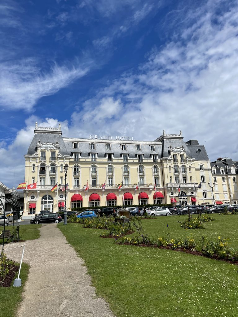 Week end relaxant au GRAND HOTEL DE CABOURG